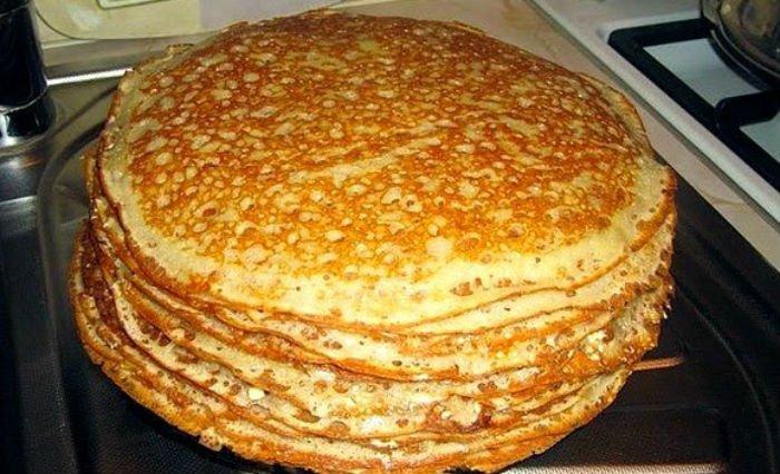Вкусные блины на кефире рецепт с фото пошагово