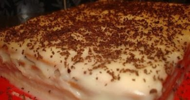 торт из печенья