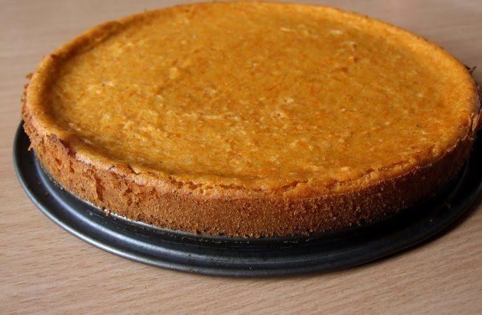 Заливной тыквенный пирог