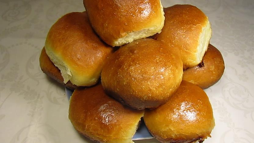сдобные булочки на кефире