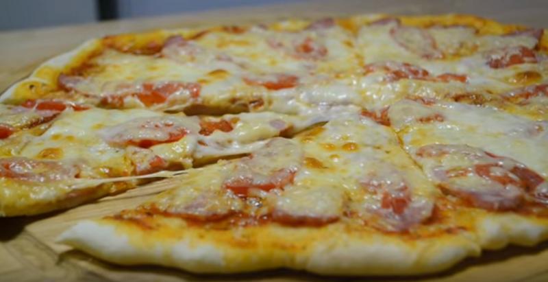 ДОМАШНЯЯ ПИЦЦА быстро и легко  Тесто для пиццы рецепт