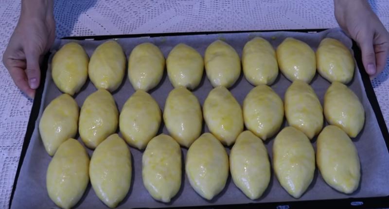 венское тесто и пирожки с яблоками