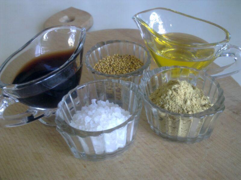 рецепт горчицы в домашних условиях