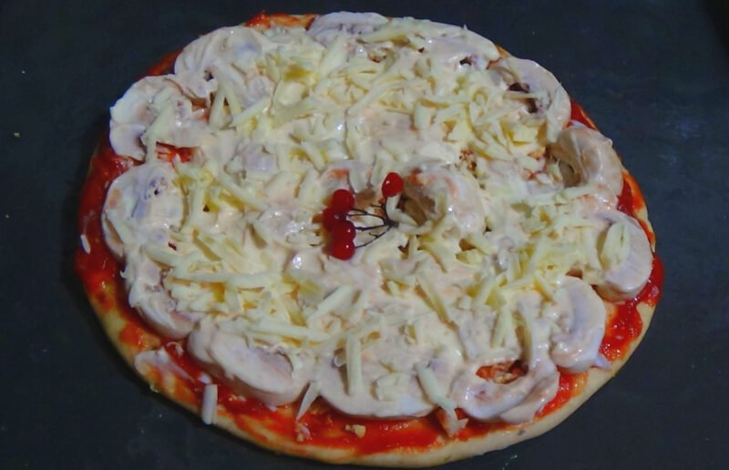 домашний рецепт пиццы