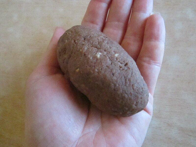 домашнее пирожное картошка