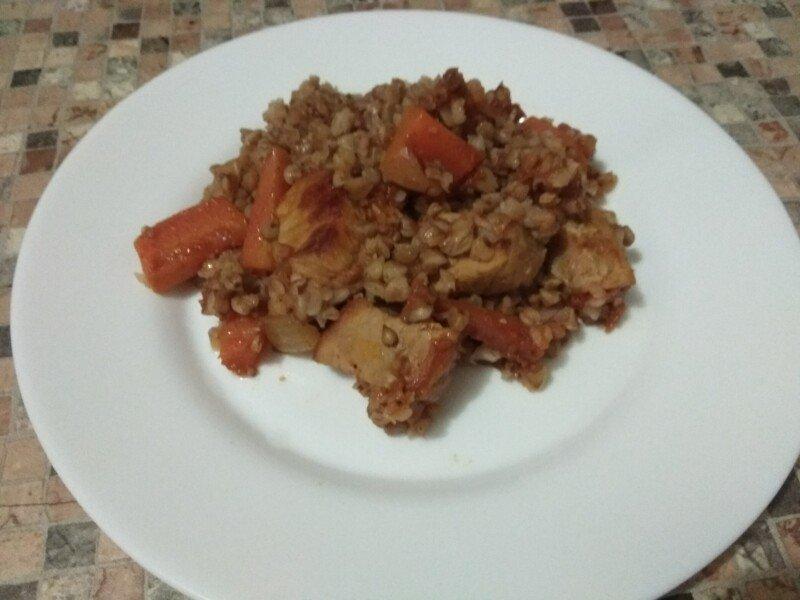 рецепт пошагово гречки с мясом