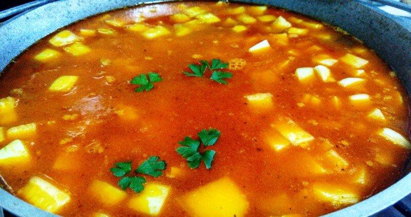 овощное рагу с кабачками и картошкой рецепт