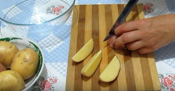 картофель по деревенски с корочкой