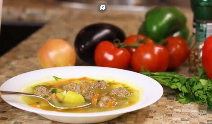 суп с фрикадельками пошаговый рецепт